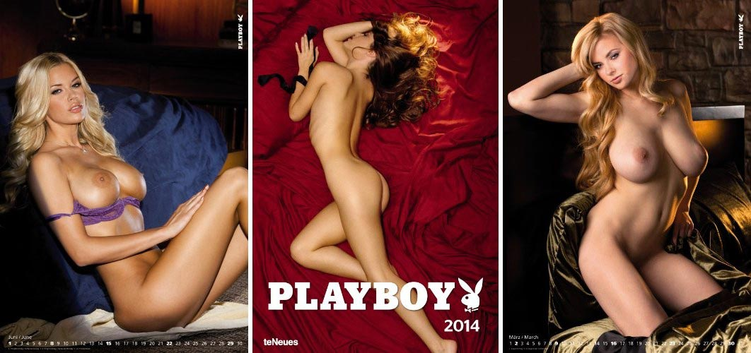 Calendrier Playboy 2014